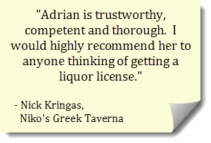 liquor license attorney recommendation